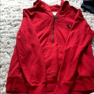 True religion rhinestone hoodie